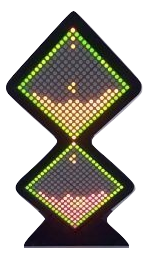 LED Matrix Big Hourglass
